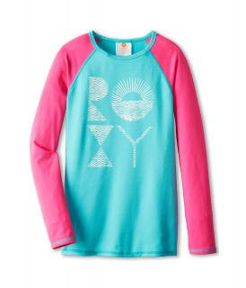 Roxy Kids Low Tide L/S Rashguard Girls Swimwear (Multi)