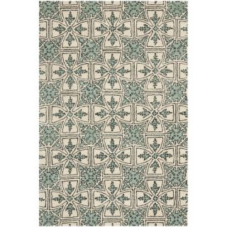 Safavieh Chatham Light Blue/Ivory Rug CHT716A Rug Size 4 x 6