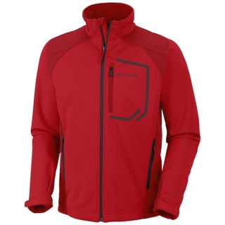 Columbia Sportswear Key Three II Omni Heat(R) Jacket   Soft Shell (For Men)   691 BRIGHT RED (XL )