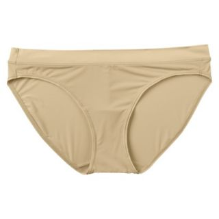 JKY By Jockey Womens Nylon Stretch Bikini   Toasted Beige 6