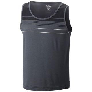 Mountain Hardwear Soul Slinger Tank Top   UPF 25 (For Men)   GRAPHITE (L )