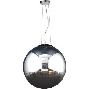PLC Lighting PLC 14857 PC CFL Mercury 2 Light Pendant Mercury Collection