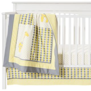 Pam Grace Argyle Giraffe 10 Piece Crib Baby Bedding Set  Gender Neutral