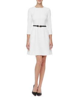 Womens keegan 3/4 sleeve dress, cream   kate spade new york