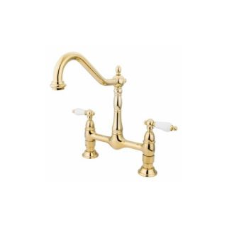 Elements of Design ES1172PL New Orleans Two Handle Kitchen Faucet