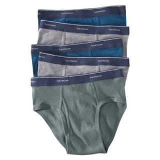 Fruit of the Loom Mens Low Rise Boxer Briefs 5 Pack   Assorted Colors XXL