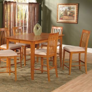 Atlantic Furniture Inc Montreal 7 Piece Pub Table Set   ATF414