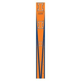 University of Illinois Removable Peel & Stick Growth Chart