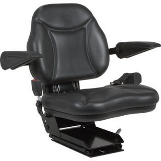 A & I Products Big Boy Suspension Tractor Seat   Black, Model# BBS108BL