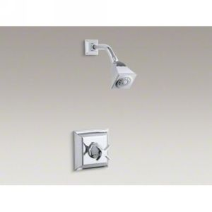 Kohler K T462 3S CP Memoirs Stately Single Handle Shower Only Faucet Trim