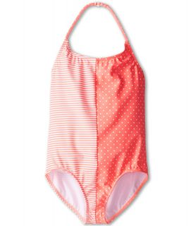 Roxy Kids Doll Face Tri One Piece Girls Swimsuits One Piece (Orange)