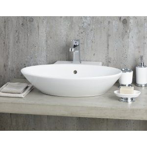 Cheviot 1277 WH 1 Geo Vessel Sink with Single Hole Faucet Drilling