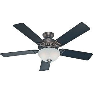 Hunter HUF 53171 The Sonora Large Room Ceiling Fan with light