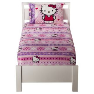 Sanrio Hello Kitty Mink Sheet Set   Twin