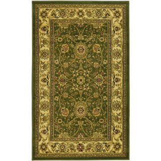 Lyndhurst Collection Majestic Sage/ Ivory Rug (33 X 53)
