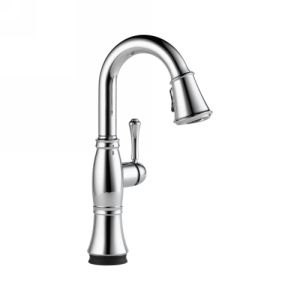 Delta Faucet 9997T DST Cassidy Single Handle Pull Down Bar/Prep Faucet with Touc