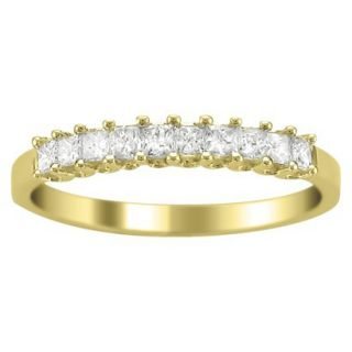 1/2 CT.T.W. Diamond Band Ring in 14K Yellow Gold   Size 7