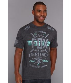 Fox Digital Damage S/S Premium Tee Mens T Shirt (Black)