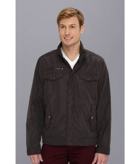 Kenneth Cole Reaction Hipster Jacket Mens Coat (Brown)