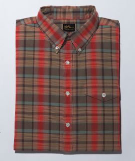 Cotton Madras Long Sleeve Shirt Tall