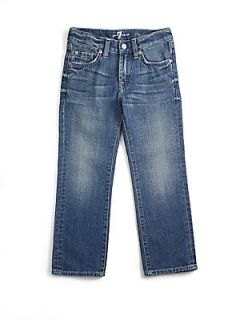 7 For All Mankind Toddlers & Little Boys Medium Wash Jeans   Heritage Light