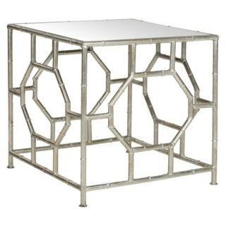 Accent Table Safavieh Rory Accent Table   Silver