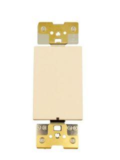 Leviton AC2011LS Light Switch, Acenti Switch Locator Light, 20A, SinglePole Sand