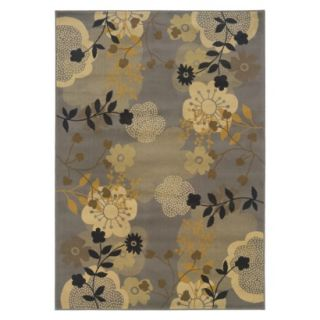 Escape Area Rug   Gold/Gray (53x76)