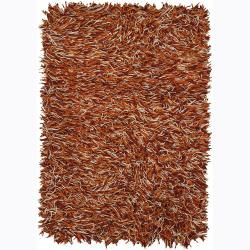 Hand woven Cyrolli Flat Cut Pile New Zealand Wool Shag Rug (26 X 76) (Red, ivory, OrangePattern Shag Tip We recommend the use of a  non skid pad to keep the rug in place on smooth surfaces. All rug sizes are approximate. Due to the difference of monitor