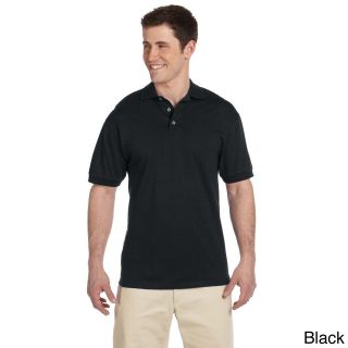 Mens Heavyweight Cotton Jersey Polo Shirt