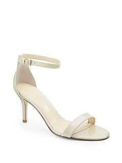 Vilma Patent Leather Ankle Strap Sandals