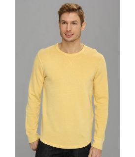 Lucky Brand Honeycomb Crew Mens Clothing (Gold)