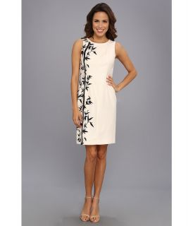 Anne Klein Textured Floral Sheath Dress Womens Dress (Multi)