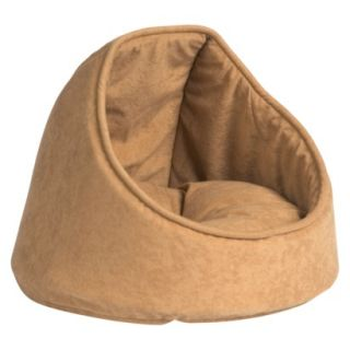 Aspen Hooded Cat Bed   Camel (16)