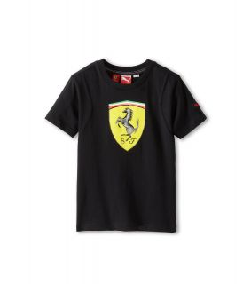 Puma Kids Ferrari Tee Boys T Shirt (Black)