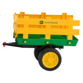 Peg Perego John Deere Riding Toy Trailer Multicolor   IGTR0934