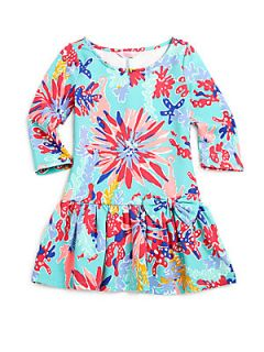 Lilly Pulitzer Kids Toddlers & Little Girls Coraline Dress   Aqua