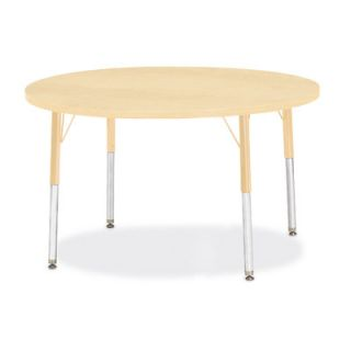 Jonti Craft Berries Round Activity Table (42 x 42) 6468JC251 Size 24 H x