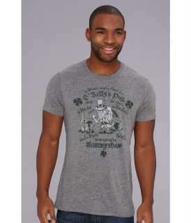 Lucky Brand Leprechaun Heathered Tee Mens T Shirt (Gray)