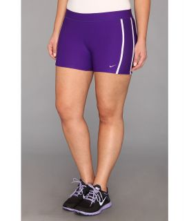 Nike Tempo Boy Short Womens Workout (Purple)