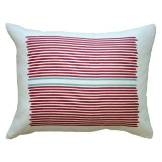 Balanced Design Hand Printed Louis Linen Pillow   LLOU1