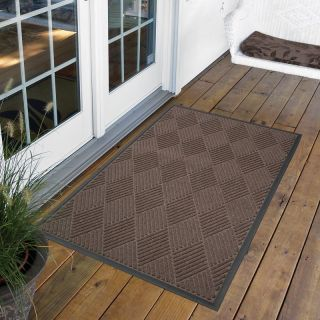 NoTrax Opus Indoor/Outdoor Rug   Brown   168S0034BR, 3 x 4 ft. Rectangle