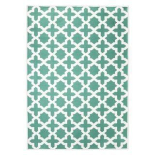 Threshold Indoor/Outdoor Area Rug   Turquoise (5x7)