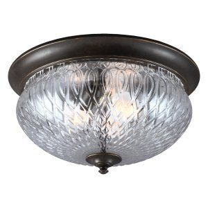 Sea Gull Lighting SEA 7826403BLE 780 Garfield Park Three Light Outdoor Ceiling F