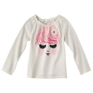 Cherokee Infant Toddler Girls Long sleeve Tee   Polar Bear 5T