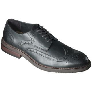 Mens Mossimo Supply Co. Kameron Wingtip Oxfords   Black 9.5
