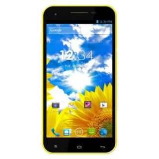 Blu Studio 5.5 D610a Unlocked Cell Phone for GSM Compatible   Yellow