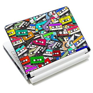 Retro Audiotape Pattern Laptop Notebook Cover Protective Skin Sticker For 10/15 Laptop 18337