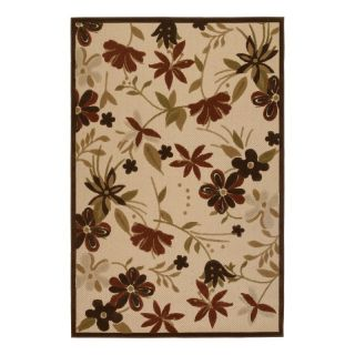 Couristan 5712 1012 Urbane Sand Indoor/Outdoor Rug Multicolor   57121012076109T,