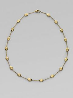 Marco Bicego 18K Yellow Gold Bead Necklace   Gold